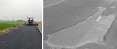 水泥路与路面刷黑后有哪些区
